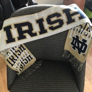 Used Adidas Notre Dame Fighting Irish scarf